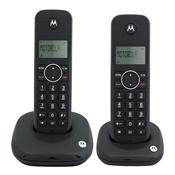 Telefone Sem Fio Digital Preto Com Identificador Moto500id-2 Motorola