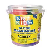 Kit De Massinhas Para Modelar Art Kids Com Acessórios Acrilex