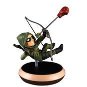 Boneco Action Figure Dc Comics Arqueiro Verde Q-Fig Quantum
