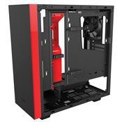 Gabinete Mid Tower S340 Elite Usb 3.0 7 Baias Preto Vermelho Ca-S340w-B4 Nzxt