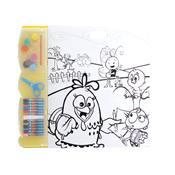 Kit Infantil De Pintura Galinha Pintadinha Br259 Multikids