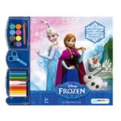 Kit Infantil De Pintura Frozen Br279 Multikids