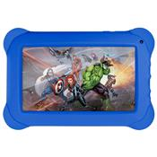Tablet Vingadores 8Gb 7 Pol Android 4.4 Azul Nb240 Multilaser