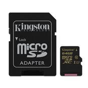 Cartão De Memória 64Gb Com Adaptador Sd Sdcg64gb Kingston