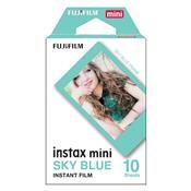 Filme Instantâneo Instax Com 10 Fotos Azul Fujifilm