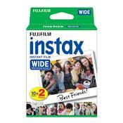 Filme Instantâneo Instax Com 20 Fotos Wide Pack Fujifilm