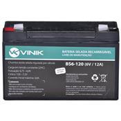 Bateria Selada Vlca 6V 12A Bs6-120 Vinik