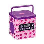 Kit Caixa De Som My Style Beauty Box Com Espelho Br423 Multikids