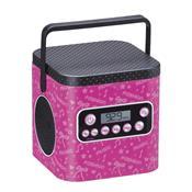 Caixa Som My Beauty Box Fashion Com Espelho Br478 Multikids