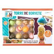 Brinquedo Creative Fun Torre De Sorvete Br645 Multikids