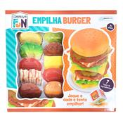 Brinquedo Creative Fun Empilha Burguer Br646 Multikids