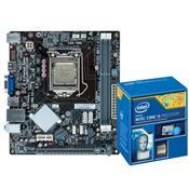 Placa Mãe Com Processador Intel Core I3-4170 Ddr3 1600Mhz H81 Hdmi Centrium