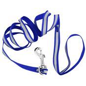 Guia Para Coleira Pet Azul Arn16117-Az Jacki Design