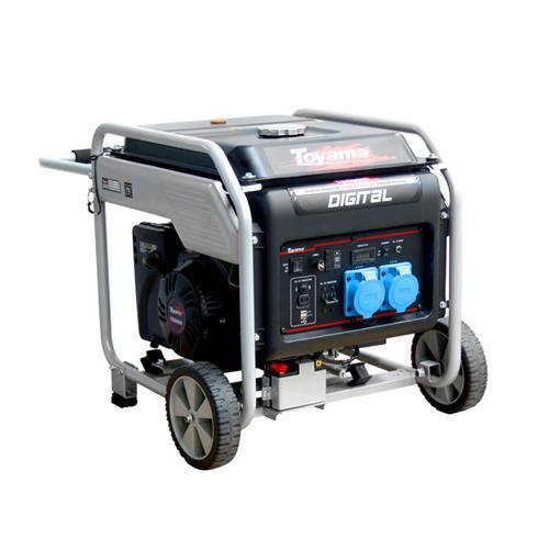 Gerador De Energia À Gasolina 420Cc Bivolt Monofásico Tg9000i Toyama
