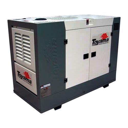 Gerador De Energia À Diesel Trifásico 1800Rpm 220V Tdmg25sse3 Toyama