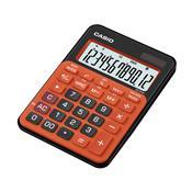 Calculadora De Mesa 12 Dígitos Preta E Laranja Ms-20Nc-Brg Casio