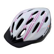 Capacete Para Ciclismo Médio Branco E Rosa Bi124 Átrio