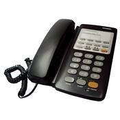 Telefone Fixo Para 2 Linhas Com Viva-Voz Preto Windsor
