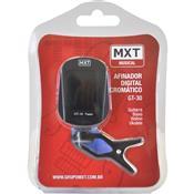 Afinador Digital Cromático Preto Gt-30 Clip Mxt