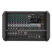 Mesa De Som 12 Canais Analógica Amplificada Bivolt Emx7 Preto Yamaha