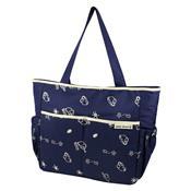 Bolsa Maternidade Estampada Azul E Bege Abc15001-Az-Bg Jacki Design