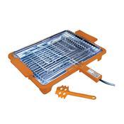 Churrasqueira Elétrica Platinum Grill 1700W Laranja Anurb