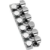 Tarraxas Para Guitarras Strato Tele Com Trava 38-11 F-Sl Niquelada Fender