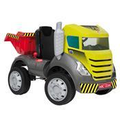 Caminhão Infantil Brutus Com Pedal Bandeirante