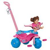 Triciclo De Passeio Infantil Motoban Baby Alive Bandeirante