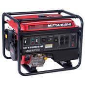 Gerador A Gasolina Bivolt 120-240V Mge6700-Roc  Mitsubishi