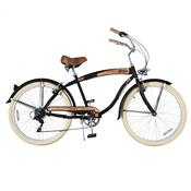 Bicicleta Psycle Sixties Aro 26 Freio V-Brake Preta Dropboards