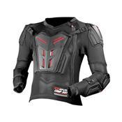 Colete Infantil Para Motocross Comp Suit M Preto Evs