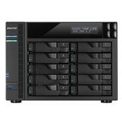 Sistema De Backup Core I3-4330 3.5Ghz 2Gb Ddr3 Torre 10 Baias As7010t Asustor