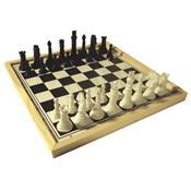 Jogo De Xadrez Escolar Tabuleiro 32 Peças 1346 Ciabrink