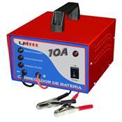 Carregador De Bateria Veicular Hobby 16Vdc 10A Bivolt Unitel