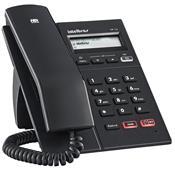 Telefone Ip Voip Com Display Gráfico Tip 125 Preto Intelbras