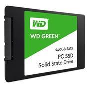 Ssd Green 240Gb 2.5 Sata 4Kb 540Mbs Wds240g1g0a Wd