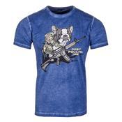 T-Shirt Concept Bad Dog Azul Invictus