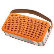 Caixa De Som Portátil Bluetooth Usb Laranja Sp249 Pulse