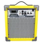 Caixa De Som Amplificada 60W Amarela Lc250 App Frahm
