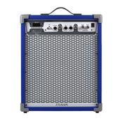 Caixa De Som Amplificada 80W Azul Lc450 App Frahm
