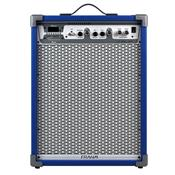 Caixa De Som Amplificada 100W Azul Lc650 App Frahm
