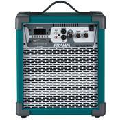 Caixa De Som Amplificada 60W Verde Lc250 App Frahm