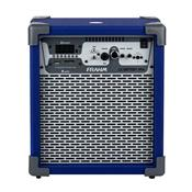 Caixa De Som Amplificada 60W Azul Lc Battery Nfa Frahm