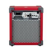 Caixa De Som Amplificada 60W Vermelho Lc Battery Nfa Frahm