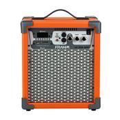 Caixa De Som Amplificada 60W Laranja Lc250 App Frahm
