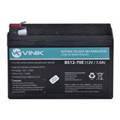 Bateria Selada Vlca 12V 7Ah 2.1A Bs12-70E Vinik
