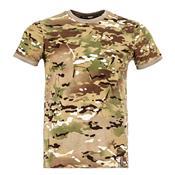 Camiseta T-Shirt Tech Camuflada Multicam Invictus