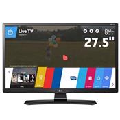 Smart Tv Monitor 27.5 Pol Led Usb Hdmi Wifi 28Mt49s Lg