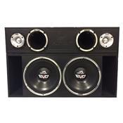 Caixa Amplificada Box Trio Evo 550 12 Pol 1550W 31168 Hinor